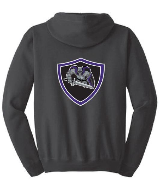 AHU Jr Knights Unisex Zip Hooded Sweatshirt