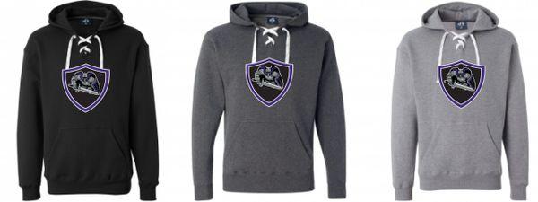 AHU Jr Knights Unisex Lace Up Sweatshirt