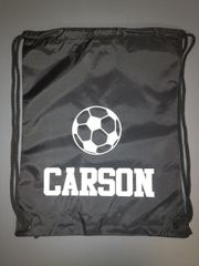 Custom Soccer Cinch Back Pack
