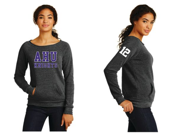 AHU Midgets Ladies Alternative Apparel Fleece Sweatshirt