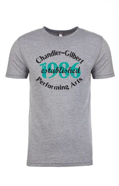 "CGCC ""Est.1986"" Young Men's Fit, Triblend tee"