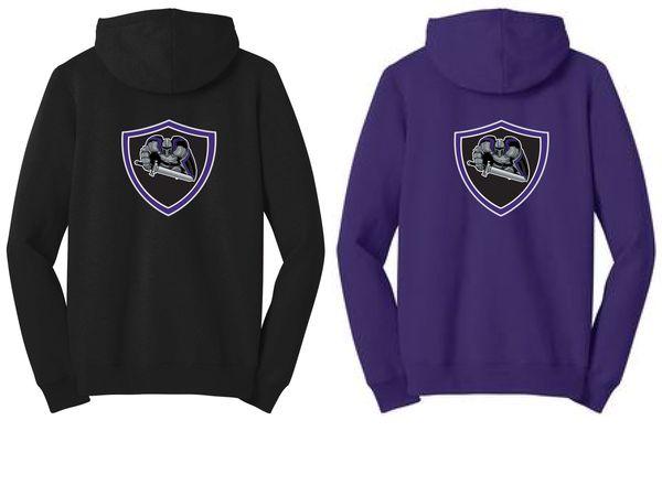 AHU Jr Knight Ladies Junior Fit Zip Hooded Sweatshirt