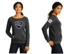 AHU Jr Knights Ladies Alternative Apparel Fleece Sweatshirt