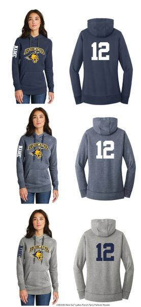Bobcats Ladies Terry Pullover Hoodie