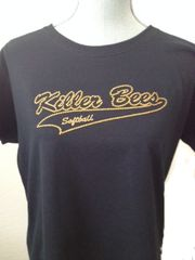 Killer Bees Rhinestone Ladies tee
