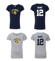 Bobcats Girls Slim Fit tee
