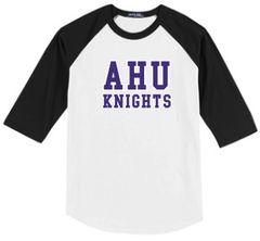 AHU Midgets Adult Unisex Baseball tee