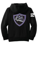AHU Jr Knights Youth Zip Hooded Sweatshirt