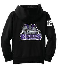 AHU Knights Youth Zip Hooded Sweatshirt