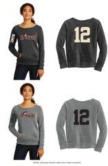 Jr. Coyotes Ladies Alternative Apparel Fleece Sweatshirt