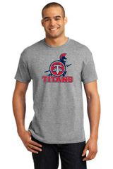 Titans Young Men's/ Unisex TriBlend shirt with Front Print