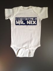 "Custom Baby Onesie ""Call Mr. _____"" with name personalization"