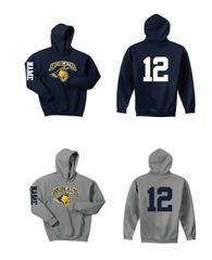 Bobcats Youth Pullover Hoodie