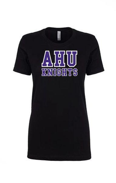 AHU Ladies Slim Fit Lightweight tee with Midget logo