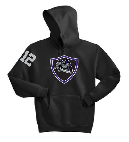 AHU Jr Knight Adult Unisex Hooded Pullover Sweatshirt