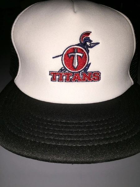 Titans Embroidered Trucker Hat