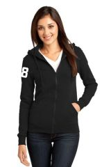 AHU Knights Ladies Junior Fit Zip Hooded Sweatshirt