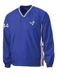 Stars Baseball Embroidered YOUTH Pullover