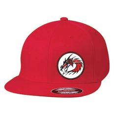 Dragons Flexfit Flatbill hat