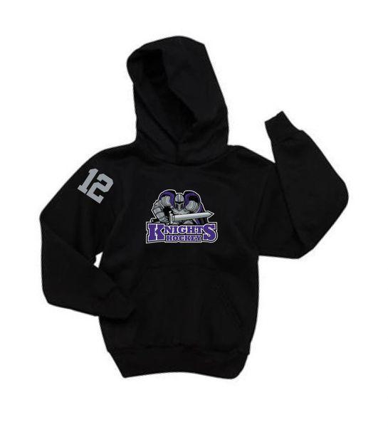 AHU Knight Youth Hooded Pullover Sweatshirt