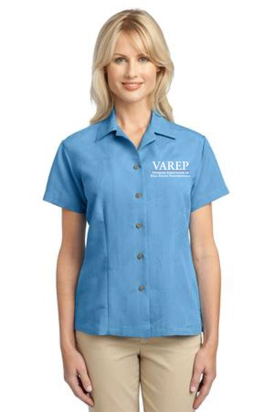 VAREP Ladies' Patterned Camp Shirt