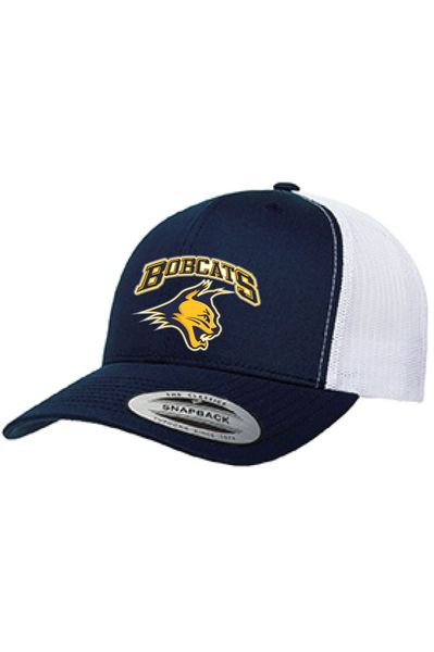 Bobcats Glitter Print Trucker Hat