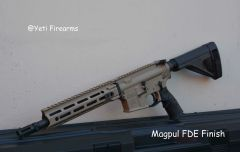 Coated Daniel DDM4 V7p AR-15 Pistol 5.56mm