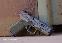 Agency Arms Glock 19 G4 Urban OD Green Frame