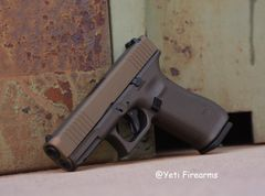 Glock 45 9mm Midnight / Burnt Bronze