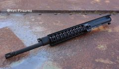 "LMT CQBU16 AR-15 16"" Complete Gas Piston Upper"
