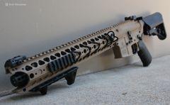 """War Sport LVOA-S SBR AR-15 11.75"""" FDE"""