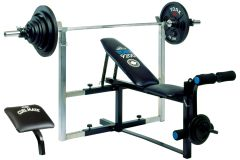 YORK BARBELL 9200 EXPANDABLE ADJUSTABLE BENCH ITEM # 4939