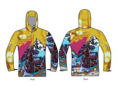 Transcendence unisex insulated shell jacket