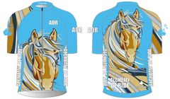 Cayuse Ladies Short Sleeve Full Zip Cycling Jersey