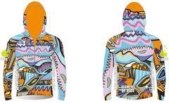 Glorious Ladies Full Zip long sleeve wind jacket with hood