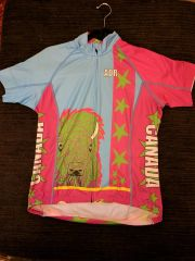 Tatanka on the Rocks, womans jersey SPF50 SIZE MEDIUM