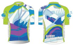 Coming Home Ladies Full Zip Short Sleeve Cycling Jersey