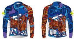 Mount Temple Men's Full Zip Long Sleeve Cycling Wind jacket