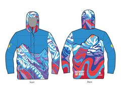 Rundle Range unisex down jacket 600 fill