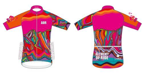 138234d9c Neon Pink Armchair  Ladies Full Zip Short Sleeve Cycling Jersey ...