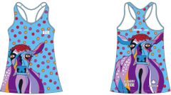Lavender Lucy Ladies tank