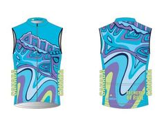 Looking South Mens Full Zip Cycling Wind Vest