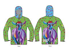Lavender Lucy insulated shell jacket