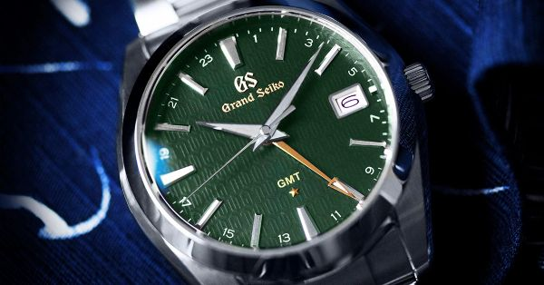 Grand Seiko Sbgn007 Gmt Limited Edition Golden Time