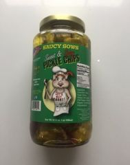 Saucy Sows Sweet and Spicy Pickles