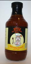 Saucy Sows Sweet Kentucky Bourbon BBQ Sauce 16 oz