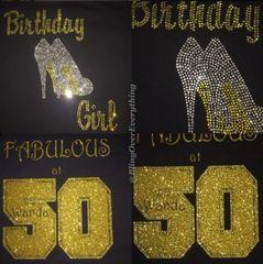 Stilettos Birthday Girl
