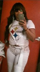 Pittsburg Steelers Custom Bling Shirt
