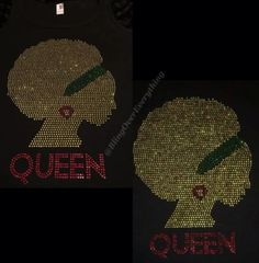 Women Cultural ALL Bling Custom Shirts