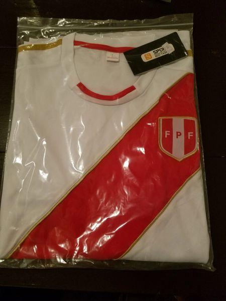 78b70591f38 Camiseta de Futbol de Peru 2018 , Peruvian Soccer Jersey